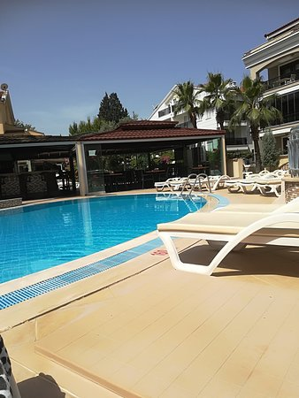 Club Amaris Apartments: View from a sun bed
