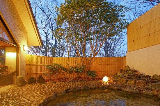 Mori no Izumi: 大浴場 森の湯 露天風呂