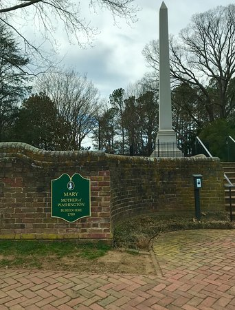 Fredericksburg, VA: Mary Washington Monument