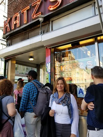Katz's Deli : The line moves quick. Don't worry about it.