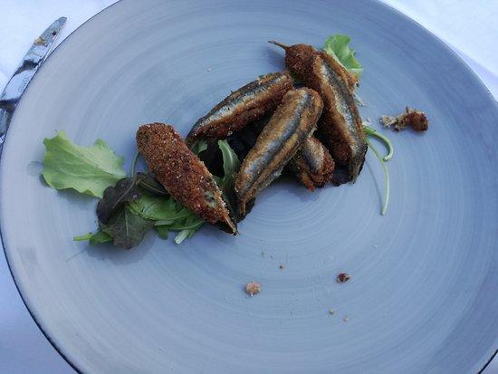 La Posada Ristorante: Alici Ripiene fritte