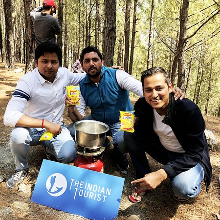 The Indian Tourist: Maggi Time - During the trek at Garhwal