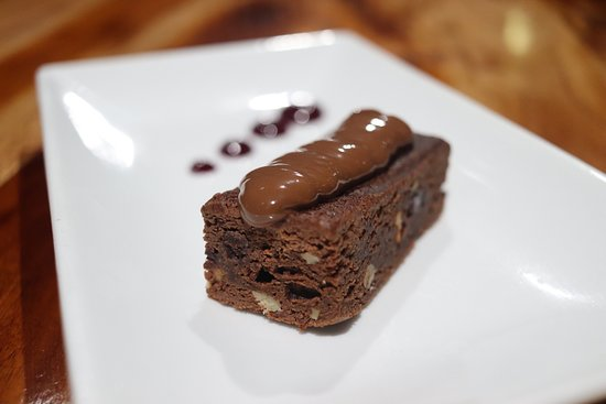 Blue Water Bar and Restaurant: Double Chocolate Brownie