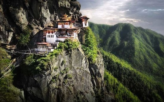Thimphu District, Bhutan: Tiger nest Monastery
