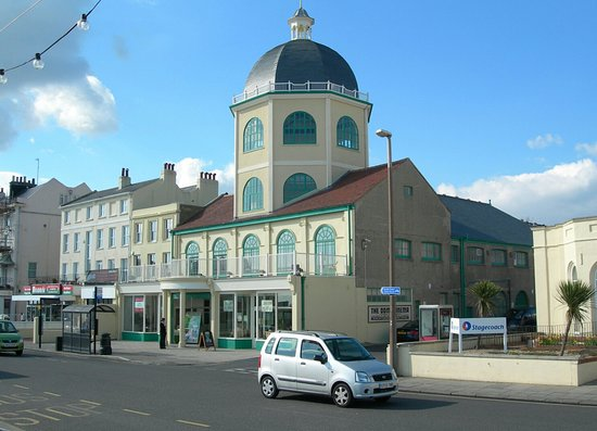 The Dome (from Worthing Pier) - Picture of Dome Cinema, Worthing