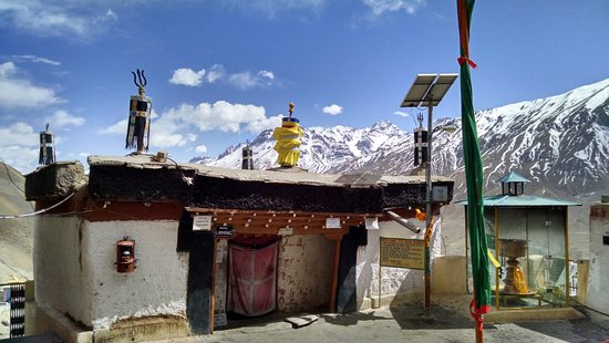 Lahaul and Spiti District, Indien: The prayer room