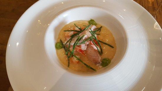 "La Rucola 2.0: lake fish and seafood ""bouillabaisse"""
