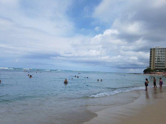 威基基海滩照片
