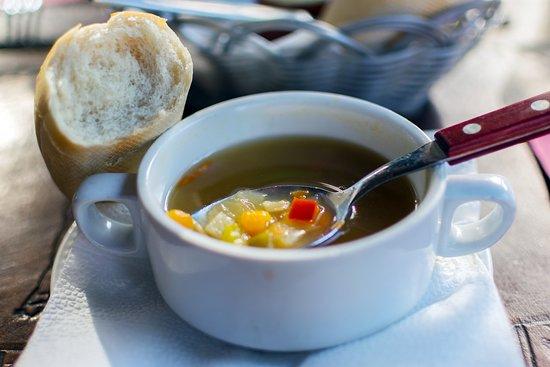 Amigo Restaurant : Vegetable-soup