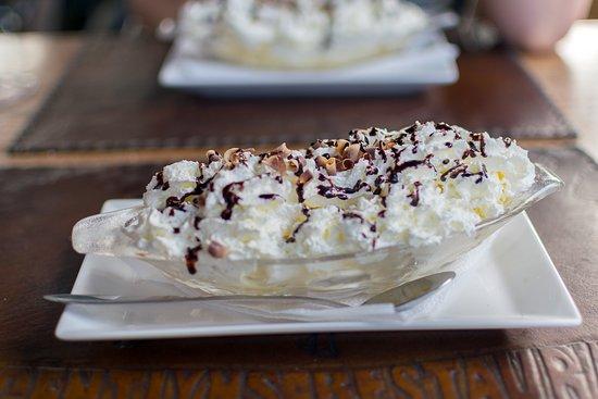 Amigo Restaurant : Banana-split.