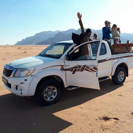 Jamal Rum Camp: Jeep tour