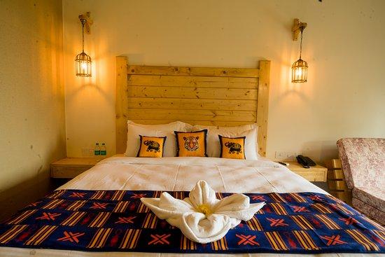 Tarangi Resort & Spa: Wildlife inpired rooms at Tarangi