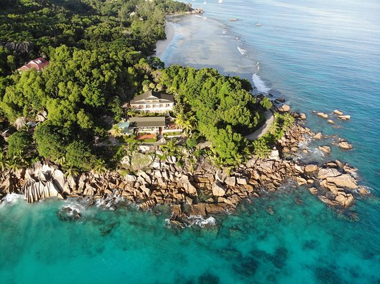 Hotel L'Ocean: A view from Drone