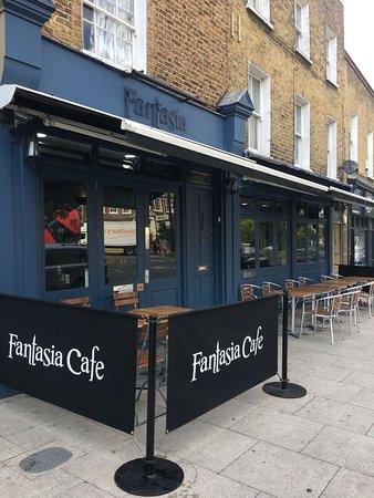 Fantasia: Cafe Front