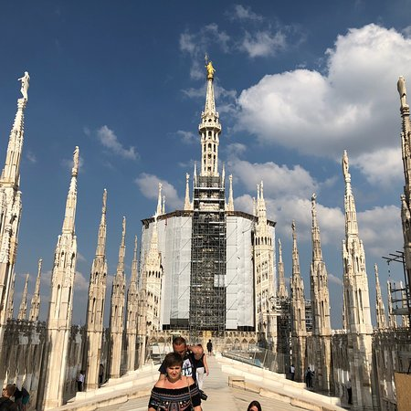 Duomo Rooftops: Must see!