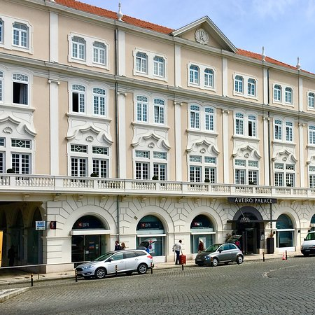 Hotel Aveiro Palace : ホテル アベイロ パレス 外観