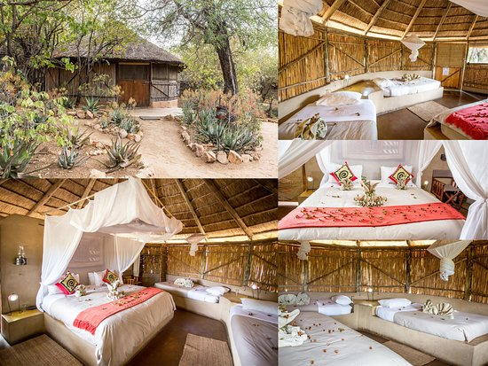 Timbavati Private Nature Reserve, South Africa: Umlani reed & thatch Rondavel
