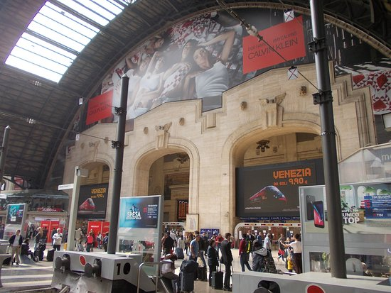 Milano Centrale: Architektonisch gelungen