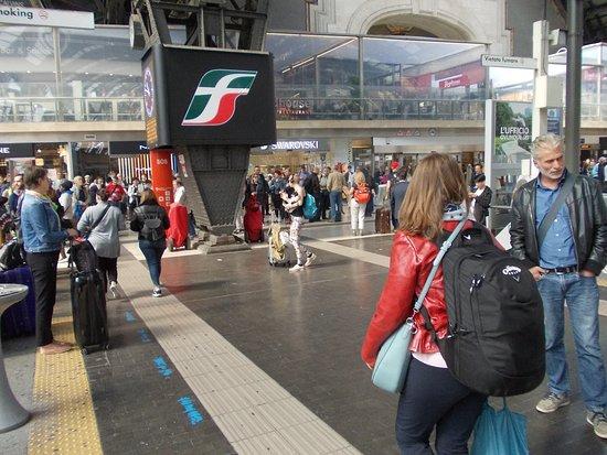 Milano Centrale: FS-Stolz