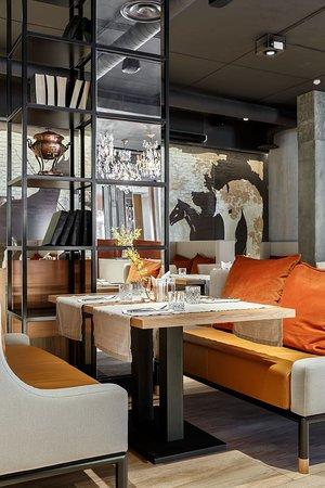 DA Restaurant: Интерьер ресторана направлен на комфорт гостя в долгосрочной перспективе