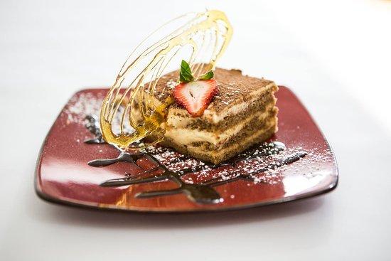 Geppetto Trattoria: Tiramisu with mascarpone and marsala cream