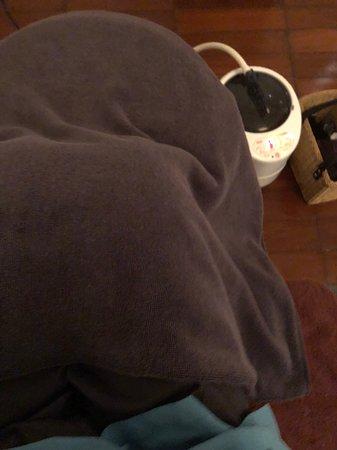 Bamboo Spa : 蒸腳,蒸完全身出汗,晚上睡得特別好