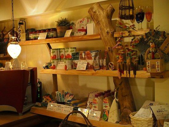 Cafe Byron Bay Asakusa Tokyo : We sell organic/ vegan/ eco-friendly products at the bar