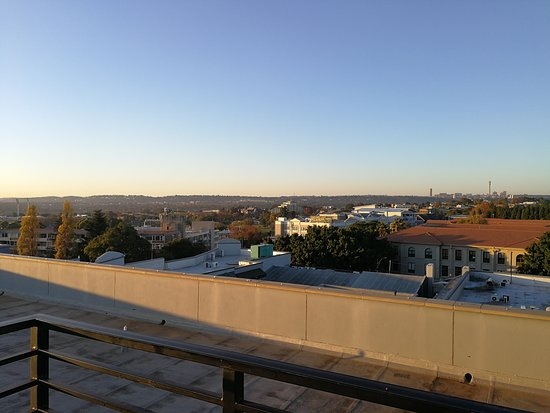Illovo, South Africa: View from roof garrden
