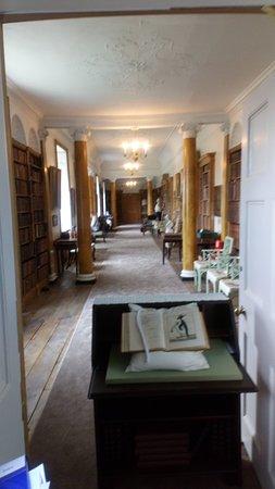 Hartlebury Castle: The Libary...