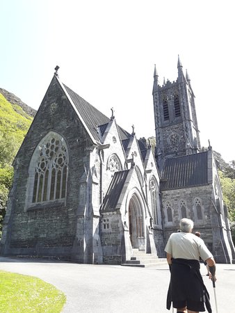 Kylemore Abbey & Victorian Walled Garden: the little cathedral in honour of Mrs Margaret