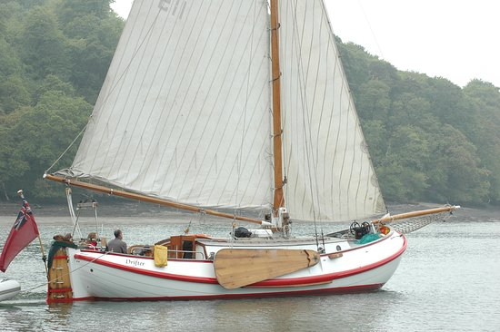 Falmouth, UK: Sailing in the River Fal