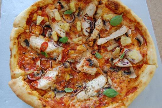 Restauracja Vestina : Pizza a'la Vestina