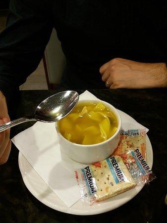 Park Cafe: specie di ravioli in brodo