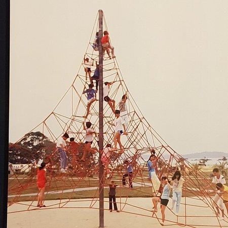 พิพิธภัณฑ์แห่งชาติสิงคโปร์: Part of the the exhibition The More We Get Together: Singapore's Playgrounds 1930 - 2030