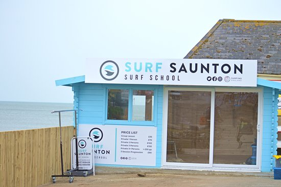 Saunton's nearest surf school to the beach, drop in and see us!