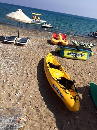 Xenios Water Sports Pissouri Bay: DOUBLE KAYAKS/PEDAL BOATS, SUP