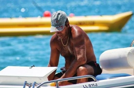 Xenios Water Sports Pissouri Bay: THE BOSS!!!! BEST OF THE BEST