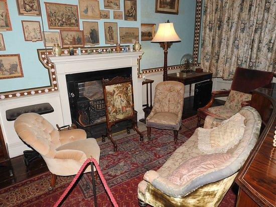Calke Abbey: Cosy room
