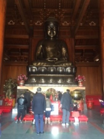 静安寺照片