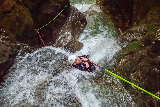 Altitude Activities: Canyoning on Soča river