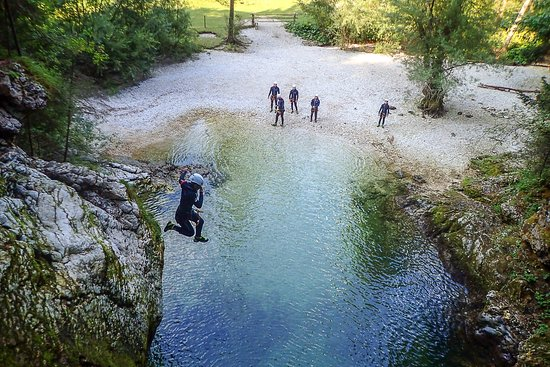 Altitude Activities: Amazing Canyoning near Lake Bled, Slovenia