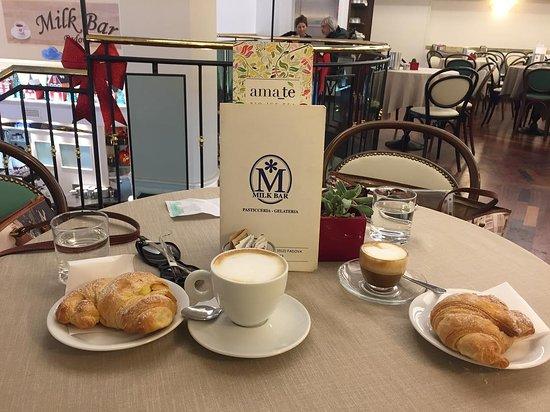Milk Bar Pasticceria : colazione