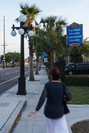 Ybor City: Ybor is a regestered historic district