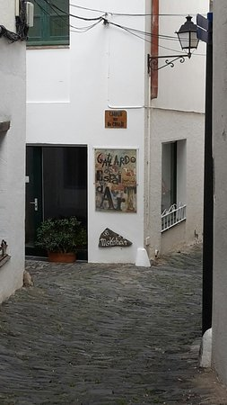 Estatua de Salvador Dali照片