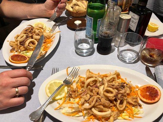 Ristorante Da Nino: Ausgezeichnete Calamari (frittiert)
