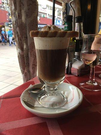 Bubbles: Cointreau Coffee