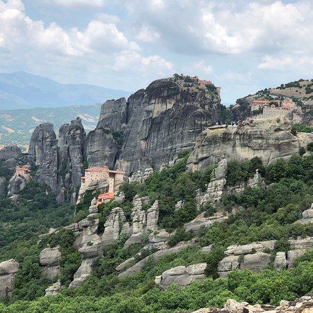 米特奥拉修道院照片