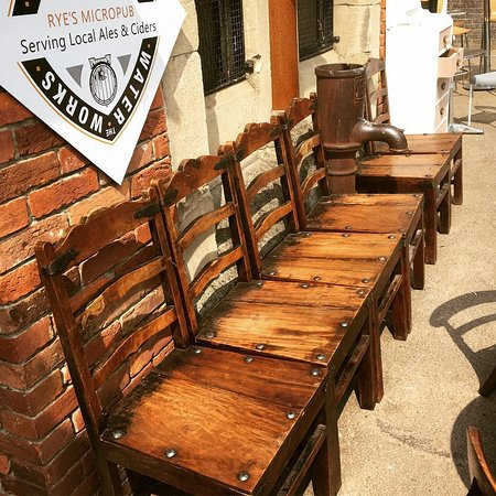 Rye Waterworks Micropub Todays Outside Seating