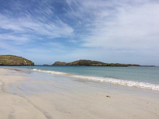 Aird Uig, UK: Reef Beach Uig 5 mins drive from BB