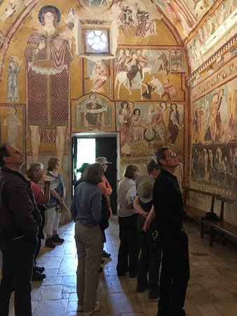 Sacred Walks: The incredible interior of the Oratorio in Bominaco